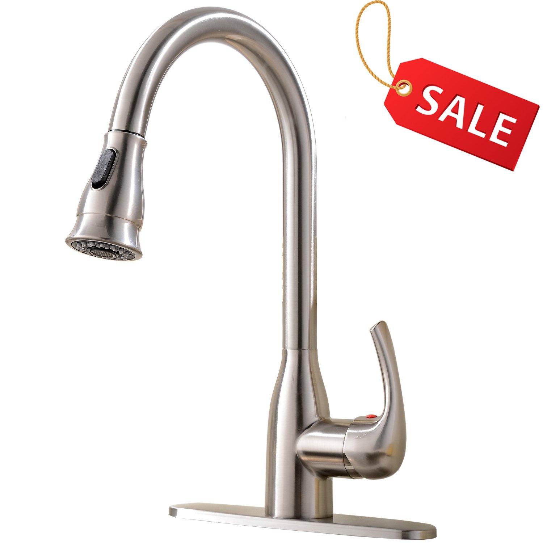 Kitchen Spout Bonnet Polish Brass Delta-RP21464PB Waterfall