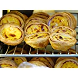 LAMINATED 36x24 inches POSTER: Portuguese Egg Tart ?ÝܾÎ_ Macau Custard Bakery Pastry Snack Sweet Traditional Bake Yellow Asian Delicious Tasty