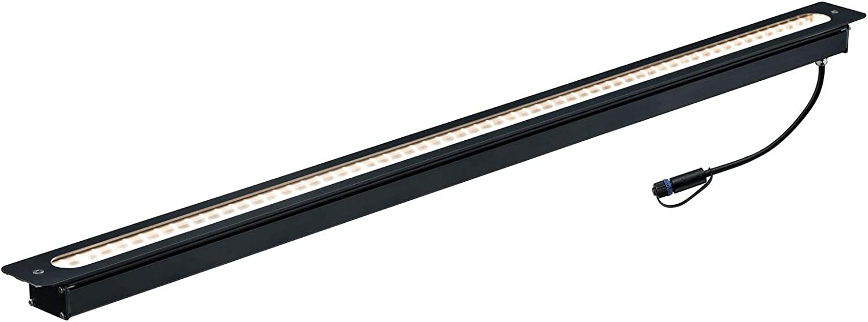 Paulmann 939.21 Outdoor Plug & Shine - Foco empotrable para suelo (IP67, 3000 K, 8 W, 24 V, ángulo de emisión de 95°, 93921)