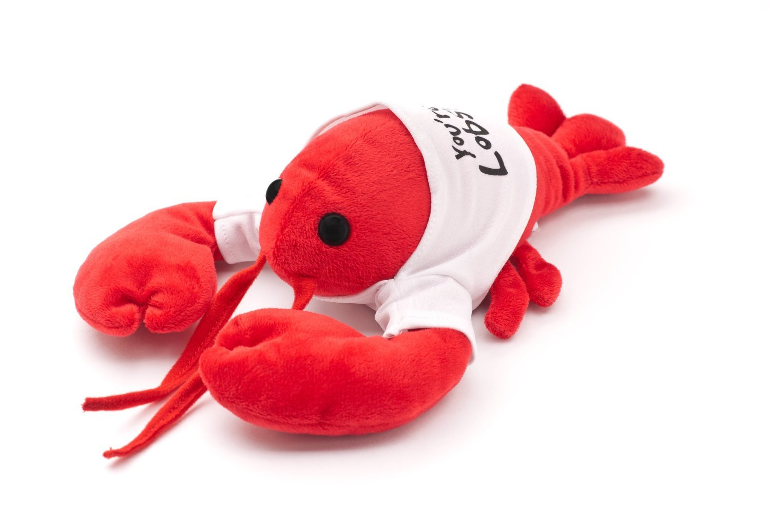 Cool TV Props Friends You're My Lobster Plush Friends Lobster Stuffed Animal Plush - Ross Geller Rachel Green Lobster Stuffed Animal in Cute White T-Shirt - 8'' (20cm) Head to Tail, 6'' (15cm) Claw to