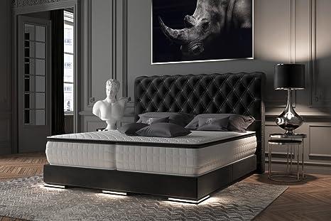 HG Royal Estates GmbH Baron Chesterfield – Cama con somier de ...