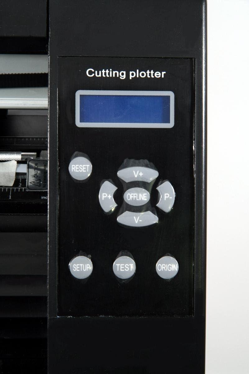 Película de la sublimación plotter de corte de 870 mm, plotter film + ArtCut software: Amazon.es: Electrónica