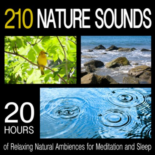 210 Nature Sounds - 20 Hours of Relaxing Natural Ambiences for Meditation and Sleep ()
