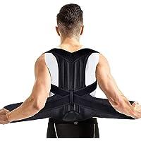AUSHEN Corrector de postura en la espalda, cinturón de apoyo lumbar para hombres y mujeres, alivio del dolor cómodo y…