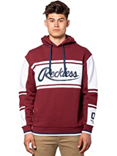 68ffe53f Young and Reckless - Brody Hoodie - Burgundy - - Mens - Tops - Hoodies -
