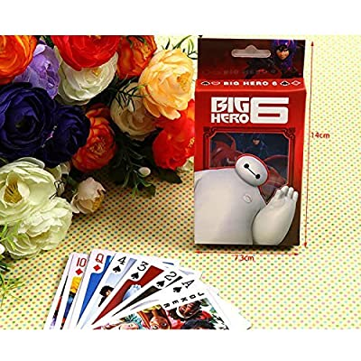 Everyday Better Life Big Hero 6 Baymax Pictures Designed Poker Playing Cards: Toys & Games [5Bkhe0301056]