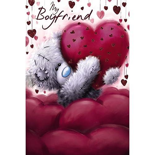 Boyfriend Valentine Card Amazon Co Uk