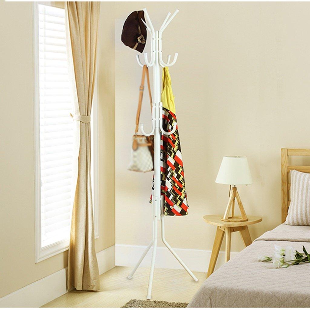 Wenbo home-コートラックLanding寝室リビングルームクリエイティブアイアンハンガーシンプルモダン – コートラック/フック ホワイト WENBO HOME B079512BDY ホワイト