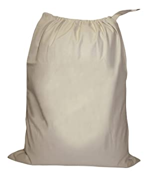 Laundry Sack Bag Cotton Canvas: Amazon.co.uk: Kitchen & Home