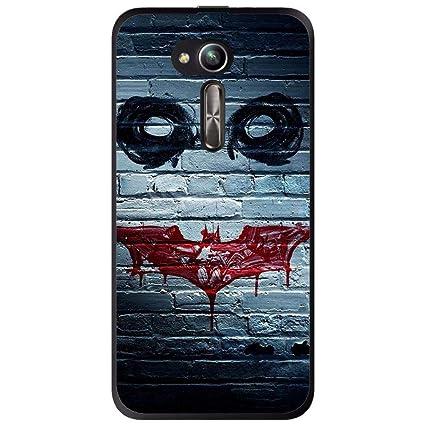 Amazon.com: Silicone Case Joker Wall Asus Zenfone Go Zb500kl ...