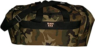 product image for BAGS USA Square Travel Bag with 2 Side Compartment,Full Length Front Pocket U Opening Easy Excess,
