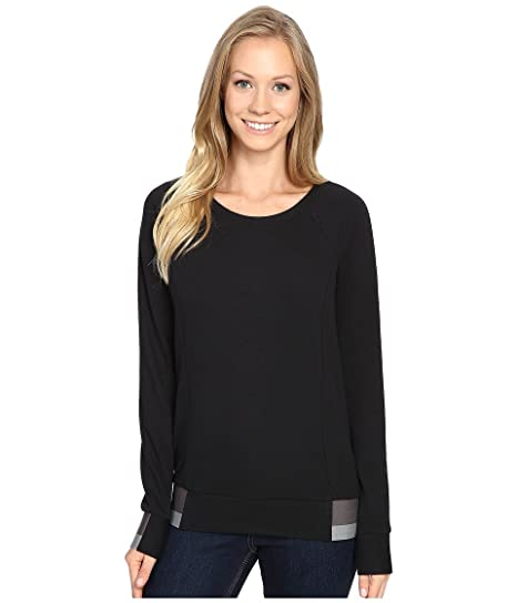 316b86fd65b THE NORTH FACE Street Lounge Crew TNF Black Women s Long Sleeve Pullover   Amazon.ca  Sports   Outdoors