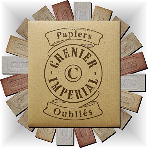 (Assortments 10 sorts Forgotten incense burning Papers from GRENIER IMPERIAL Papier parfum d'Arménie (Select Options from 10 to 100 burning paper) FRANCE (Delivery against Signature) )