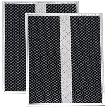 Broan BPSF36 Non-Ducted Replacement Filters for 36-Inch QS and WS Range Hoods, 2-Pack