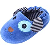 certainPL Winter Warm Home Slippers for Kids,Child Winter Keep Warm House Slippers Boys Girls Cartoon Animal Soft-Soled Bedroom House Shoes for 2-9 Years Old