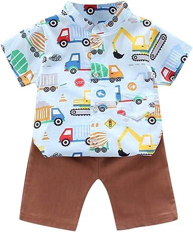 Shenye - Juego de Ropa de Verano para bebé y niño, Camisas de ...