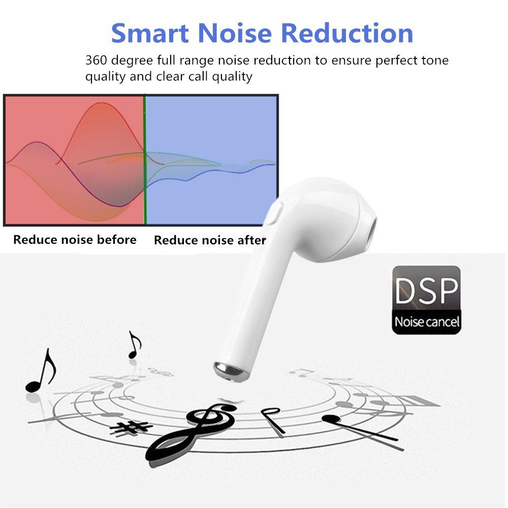 Bluetooth Earbudbluetooth Headphones V41 Edr Mini Hunter Dsp Wiring Diagram Wireless Headsetin Ear Earpiecewireless Earbud Dustproof Mic