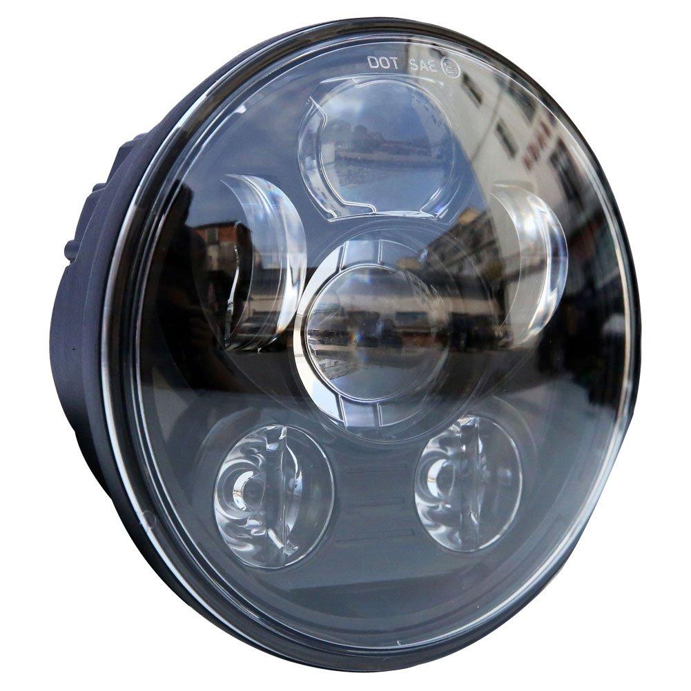 "5-3//4 5.75/"" Davidson Sportster Daymaker LED RGB Headlamp Bluetooth Halo Ring"
