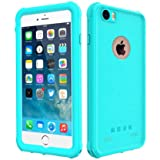 iPhone 6 Plus/6s Plus Waterproof Case, Besinpo Underwater Full Body protection Cases Drop Proof Cover Fully Supports Finger Print Function For iPhone 6S Plus/6 Plus 5.5 inch Only Blue