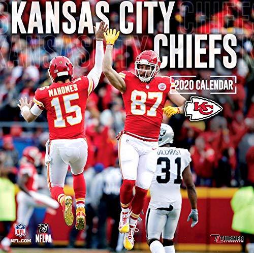 Kansas City Chiefs  2020 12x12 Team Wall Calendar