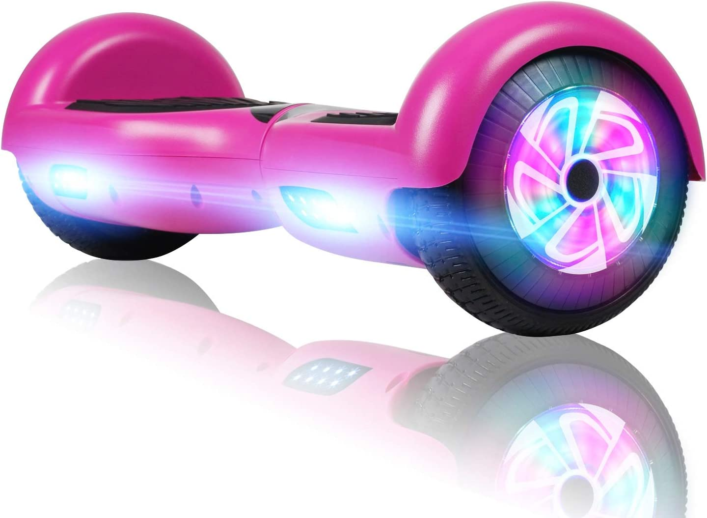 FLYING-ANT Hoverboard, 6.5 Inch Self Balancing Hoverboards F-Purple / US