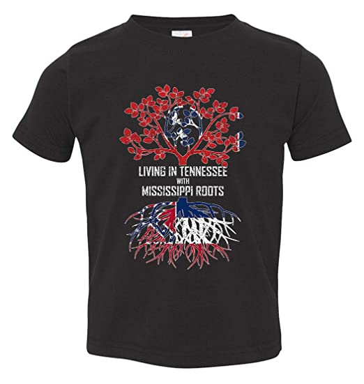 Tenacitee Babys Living in Mississippi Tennessee Roots Shirt