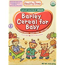 Healthy Times Whole Grain Baby Cereal - Barley - 8 oz by Healthy Times