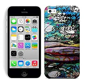 Best Power HD Colorful Painted Watercolor Beautiful Bird Hard Phone Case For Iphone 5C