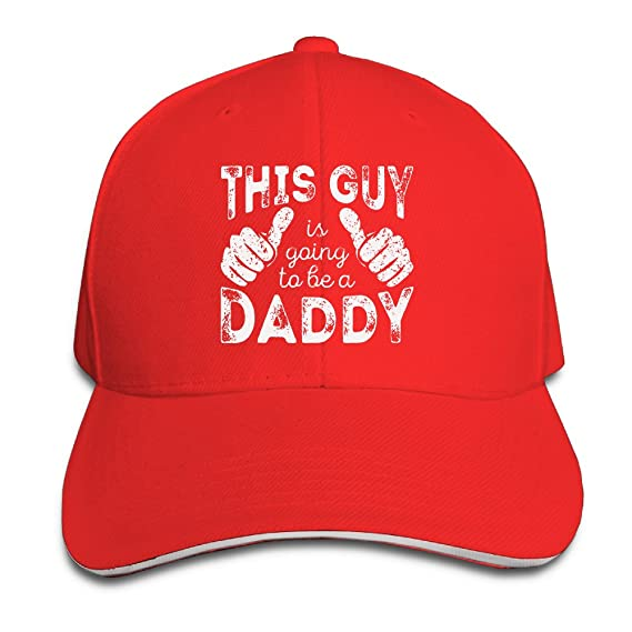 b4260fe7 Starter Sandwich Bill Cap Dad To Be Gift This Man Going To Be A Daddy  Snapbacks Caps at Amazon Men's Clothing store: