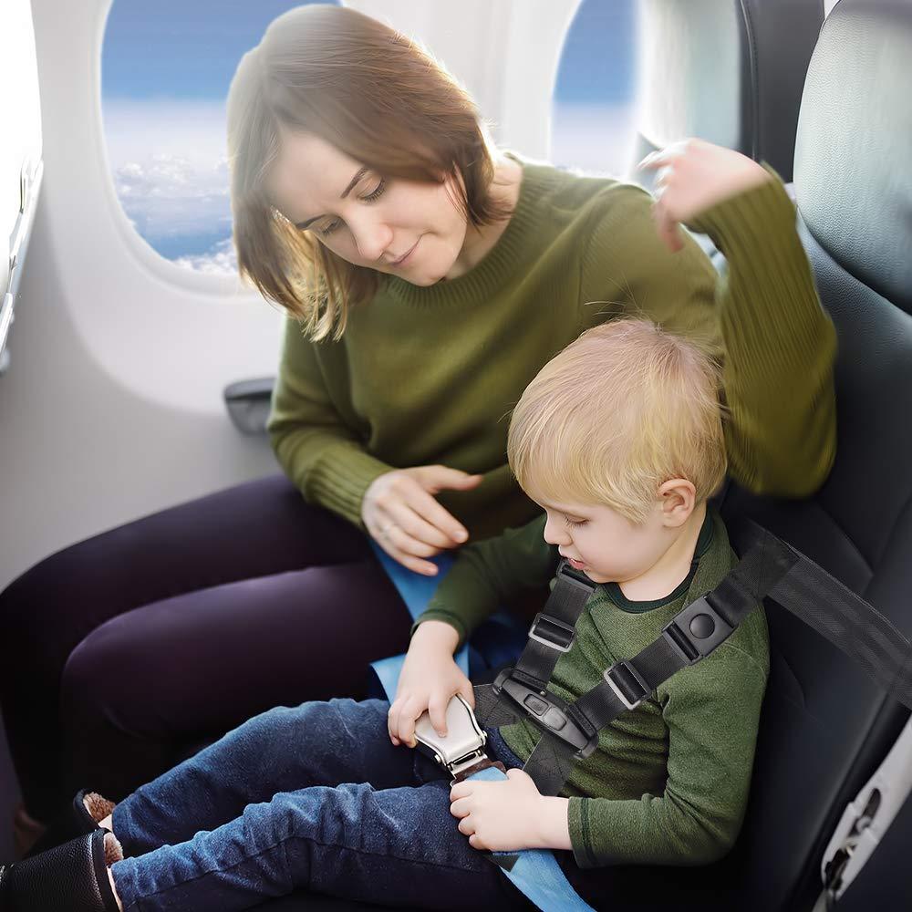 ni/ños correa de avi/ón ni/ños Arn/és de viaje para avi/ón arn/és de seguridad de viaje cuidado del sistema de seguridad para beb/és