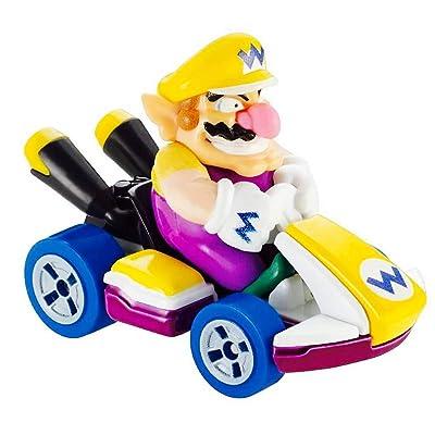 Mario Kart Wario Character Car Die Cast 1:64 Purple: Toys & Games