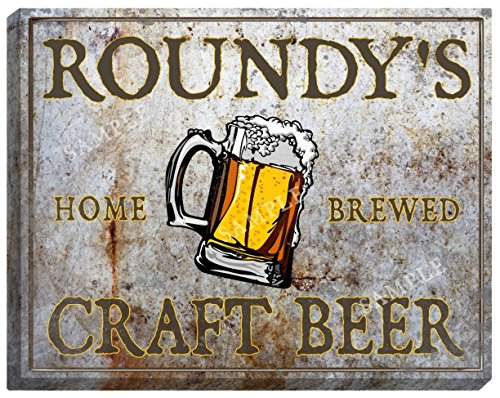 roundys-craft-beer-stretched-canvas-sign