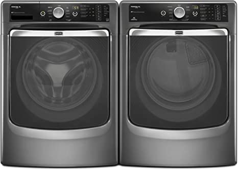 Amazon.com: Maytag Maxima XL juego de lavadora a vapor de ...