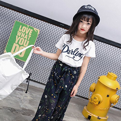 MV Childrens Clothing Spring New Korean Slim Girls Cotton T-Shirt Bottom Shirt