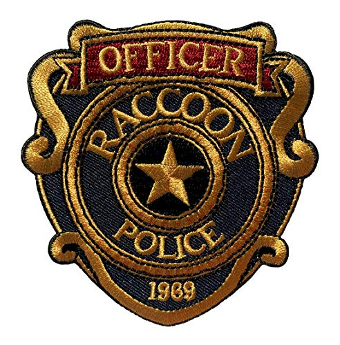 Police Officer Patch - Miltacusa Resident Evil Raccoon Police Officer Patch (3.5 inch-Hook Fastener-R5)