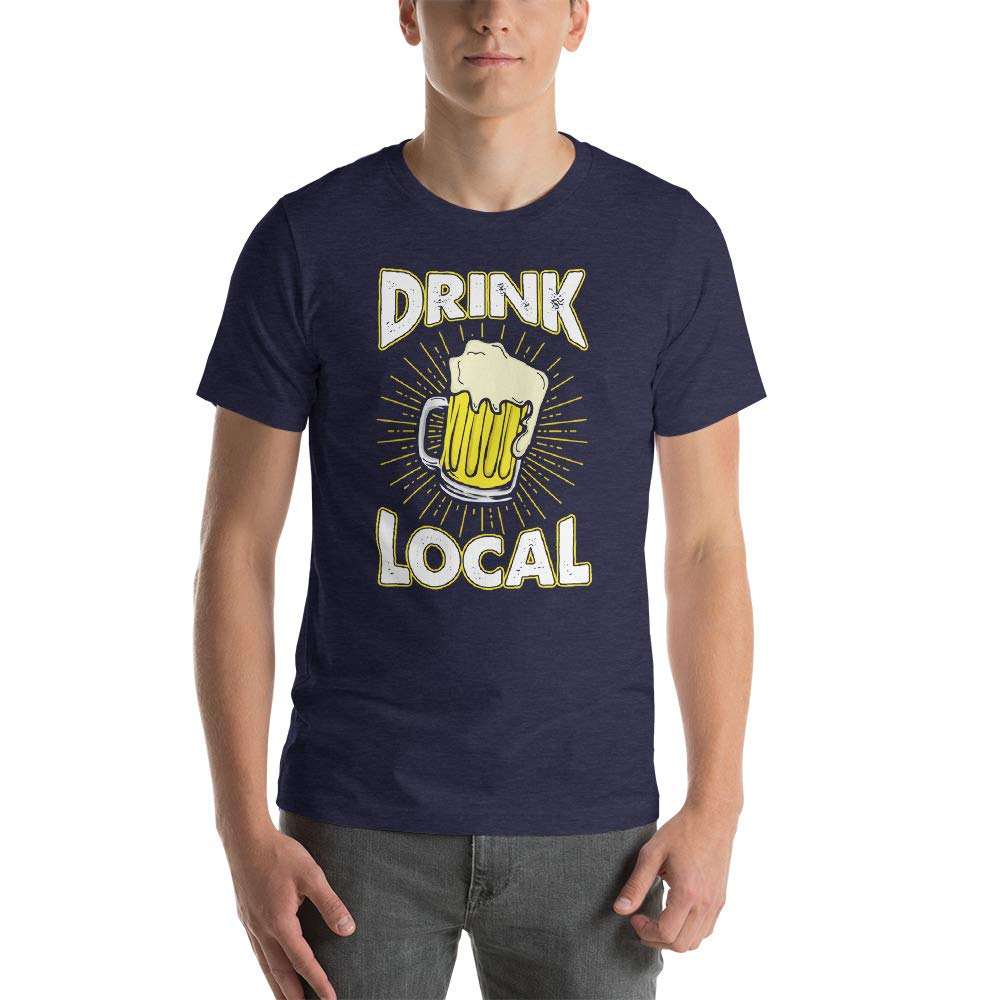 Alpha5StarDeals Drink Local Short-Sleeve Unisex T-Shirt