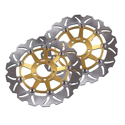 gzyf oro Rotor del freno delantero de disco para Kawasaki ...
