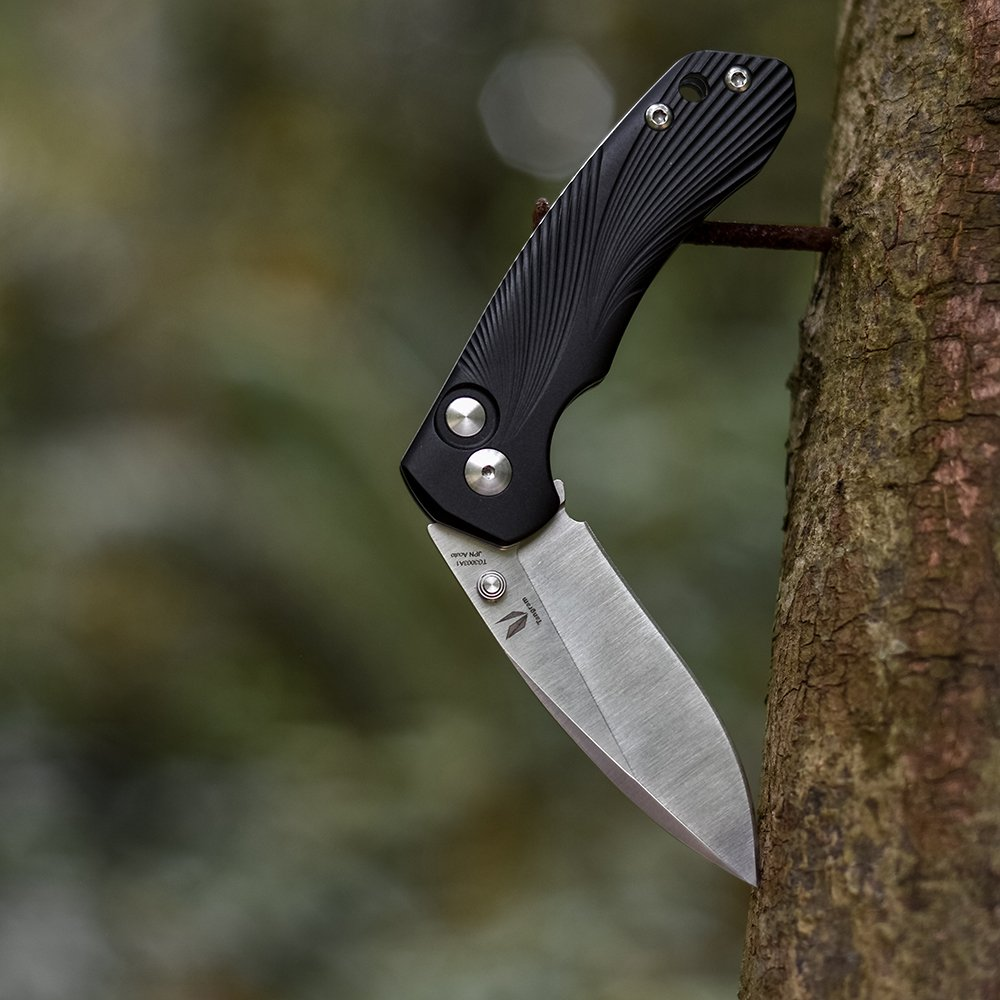 Tangram Cuchillo De Bolsillo Plegable ACUTO440 Punto De Clip ...
