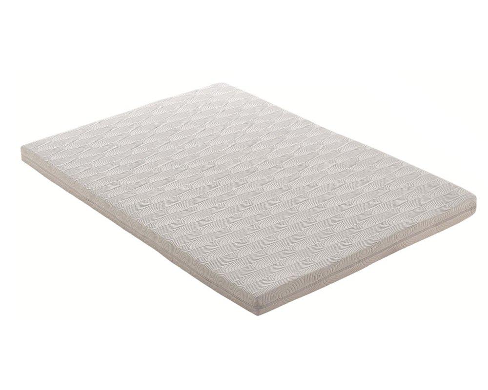 Esclusiva Poliuretano//Cotone Bianco 190x140x14 cm Nicoflex Memory Smart Materasso