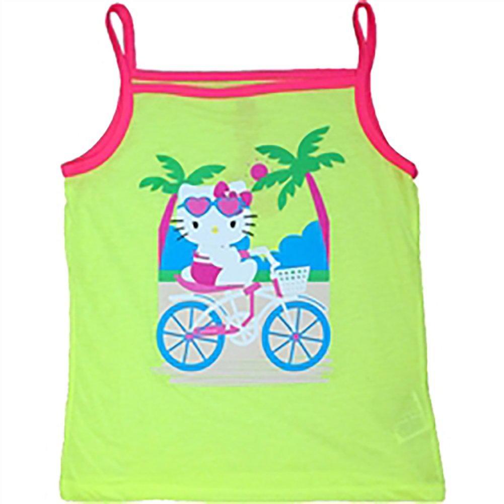 XS Hello Kitty Beach Bike tank Girls Tank Top Fashion Top