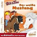 Der weiße Mustang (Bibi & Tina) Hörbuch von Stephan Gürtler Gesprochen von: Sascha Rotermund