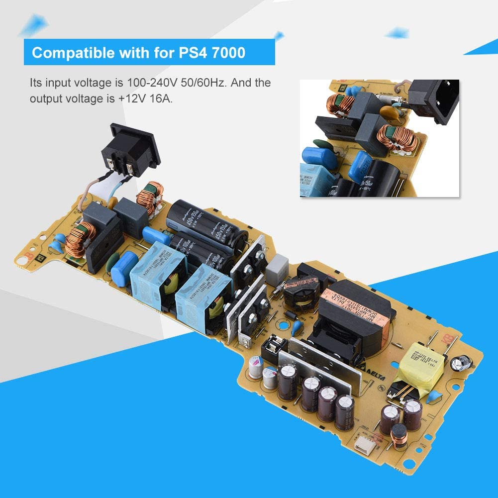 Garsent Power Supply Board Replacement Original Power Supply Board ADP-300CR Power Panel for PS4 7000