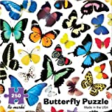 250 Piece Butterfly Jigsaw Puzzle