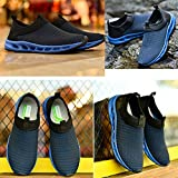 Fengda-Men-Lightweight-Breathable-Mesh-Outdoor-Running-Beach-Aqua-Water-shoes-Casual-Walking-Shoes-EU45-Dark-Blue