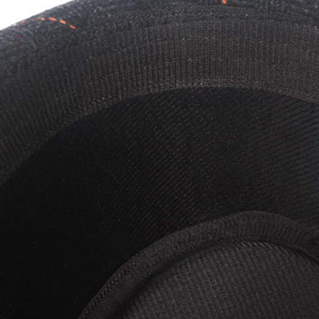 Kadola Mens /& Womens Panama Fedora Hat Manhattan Structured Gangster Trilby Flat Fedora Hat