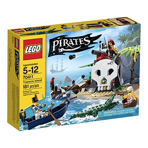 Island Pirate Adventure (LEGO Pirates Treasure Island (70411))