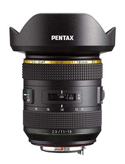 e2dc505f7 Amazon.com : Pentax HD-DA 11-18mmF2.8ED DC AW : Camera & Photo