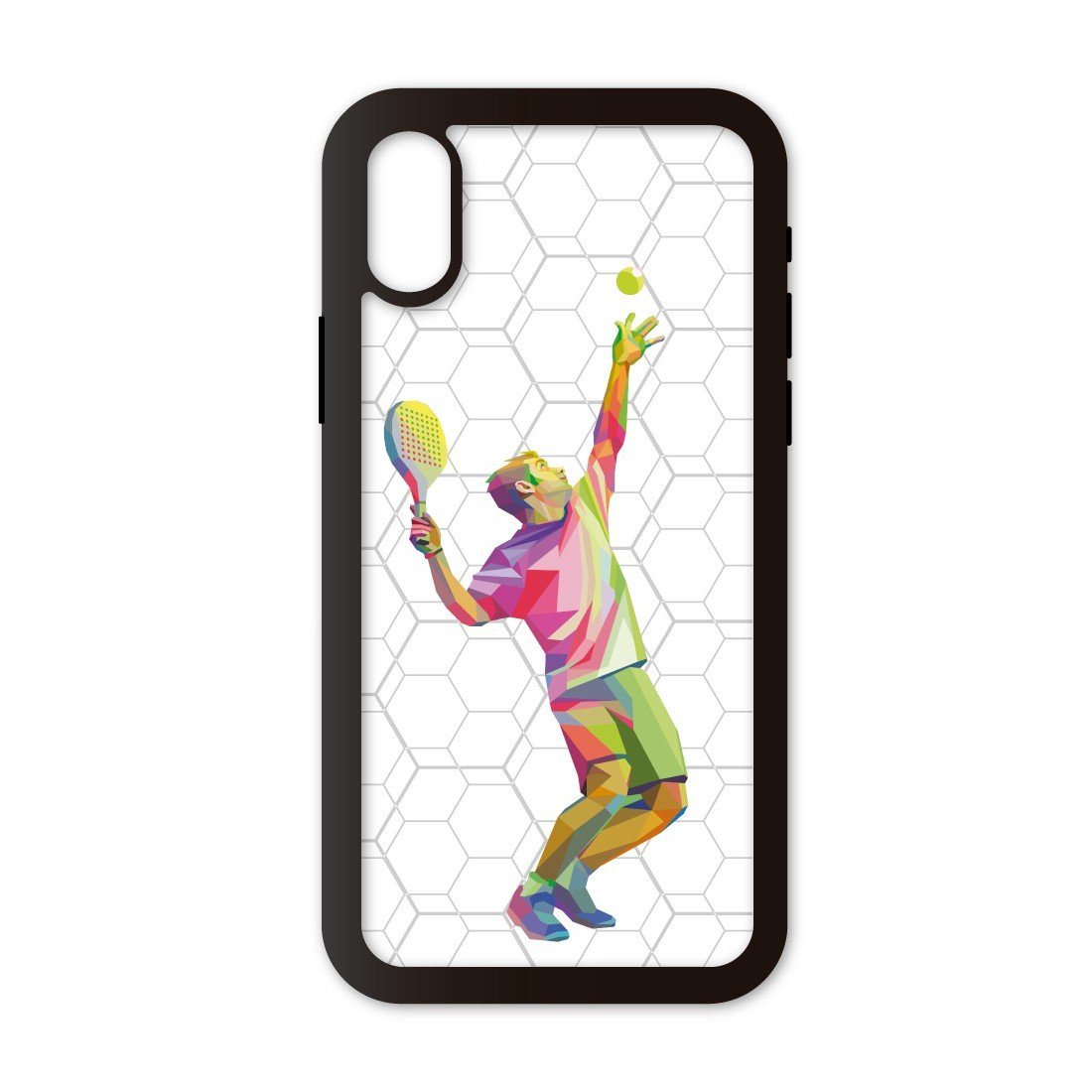 Funda móvil Compatible con iPhone X/XS Padel Saque 3D ...
