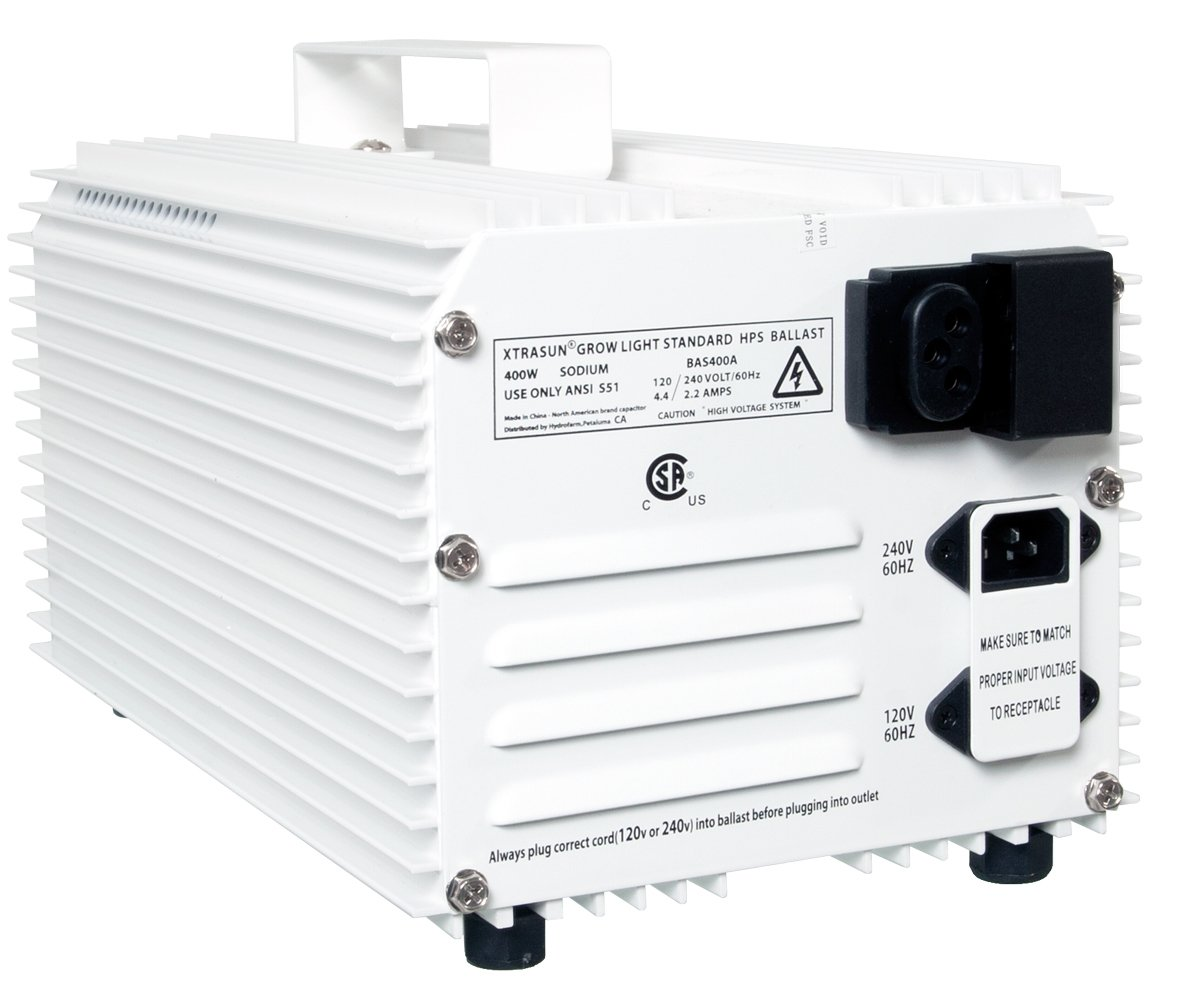Xtrasun BAS400A 400-Watt Xtrasun Sodium HPS Ballast