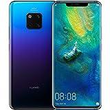 "Huawei Mate 20 Pro (128GB, 6GB RAM) 6.39"" Display, Leica Triple Camera, in-Screen Fingerprint, Global 4G LTE Dual SIM GSM Factory Unlocked LYA-L29 - International Model (Twilight)"